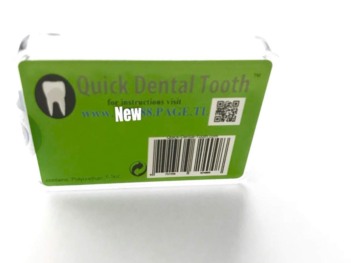 Prótesis dental temporal Quick Dental Tooth TM: Amazon.es: Bricolaje y herramientas