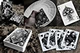 Bicycle Asura Deck (Black) by Card Experiment - Trick by Card Experiment