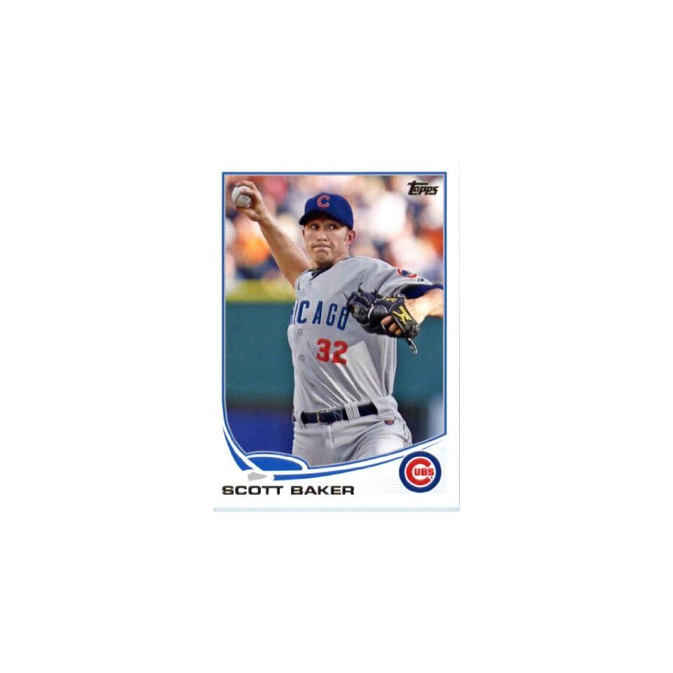 2013 Topps Baseball Card IN SCREWDOWN CASE #609 Scott Baker ENCASED