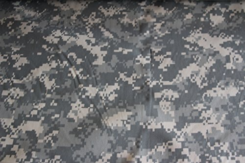 Acu Digital Camouflage 1.9 Oz Nylon. Fabric Military 60