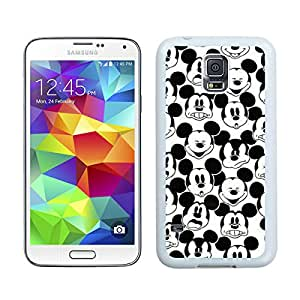 Samsung Galaxy S5 Mickey Mouse White Screen Cellphone Case Genuine and Popular Design