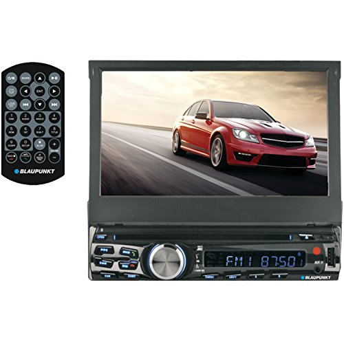 - Blaupunkt Austin 7-Inch in Dash Touch Screen DVD Multimedia Car Stereo Receiver with Remote Control and Removeable Faceplate