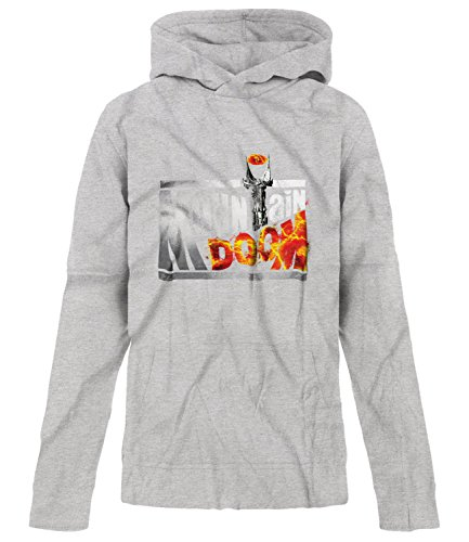 Price comparison product image BSW Youth Girls Mountain Doom Dew Eye Of Sauron Drink Hoodie LRG Sport Grey
