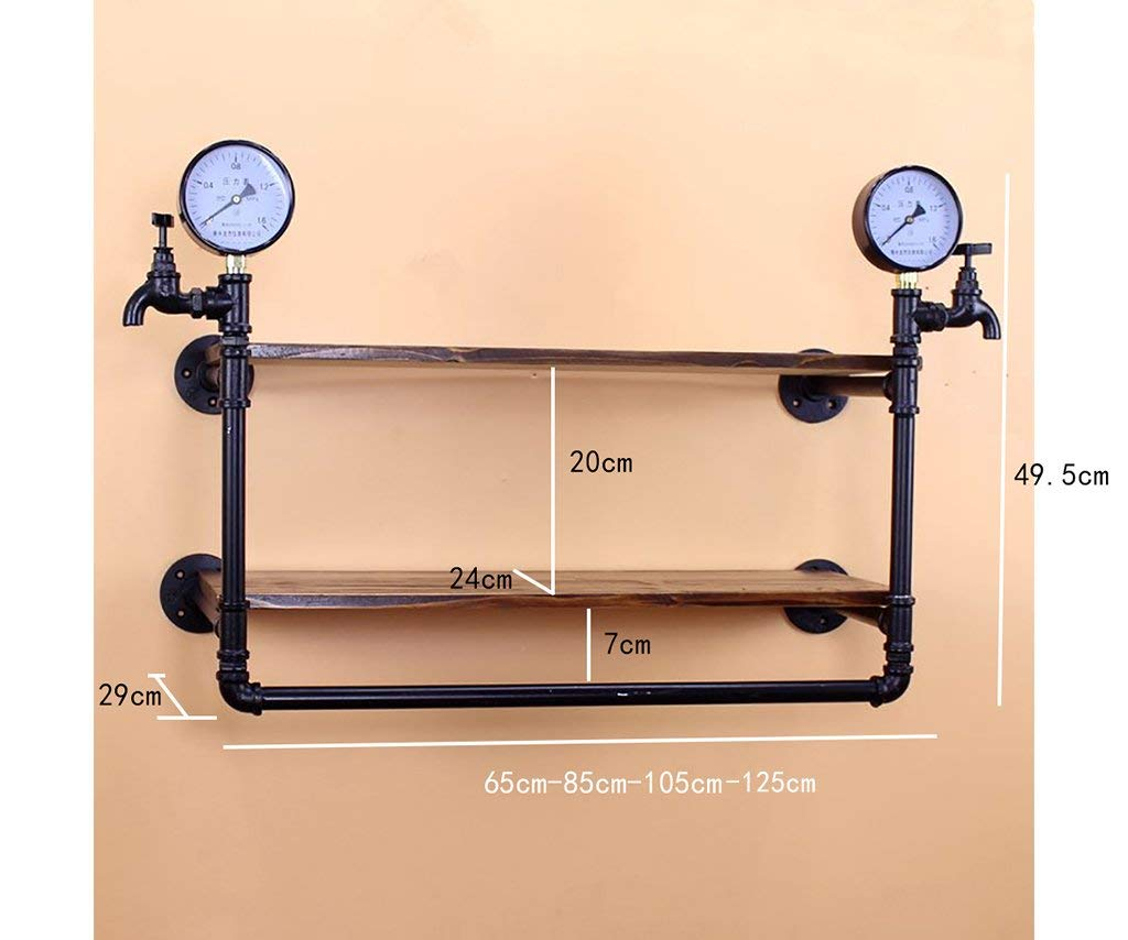 YANG Clothing Shop Decoration Props Window Display Retro Hangers Faucet Water Pipe Display Stand,65cm