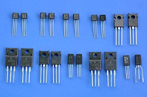 General 20 tipos TOSHIBA transistores Bipolar yogastudio, Audio para amplificadores.