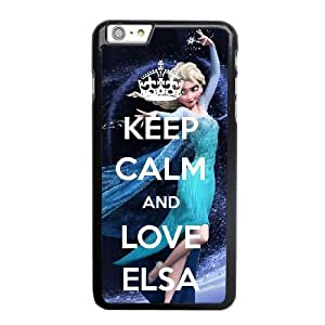 Grouden R Create and Design Phone Case, The Snow Queen Cell Phone Case for iPhone 6 6S 4.7 inch Black + Tempered Glass Screen Protector (Free) LPC-8021877