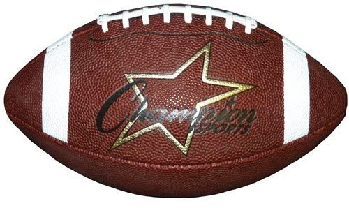 Champion Sports Intermediate Size Pro Comp Football