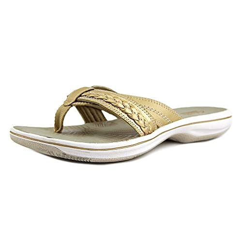 Punta Nora Mujeres Casual Brinkley Clarks ChanclasGold Abierta CBrxdeo