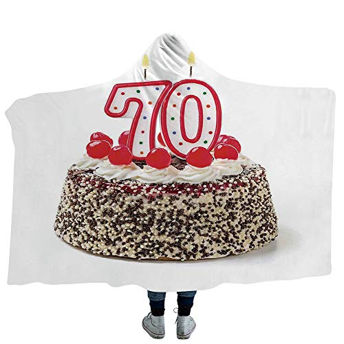 MASCULINTY Throws Blanket 70th Birthday Decorations Super So