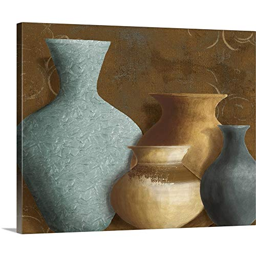 Ancient Clay I Canvas Wall Art Print, 30