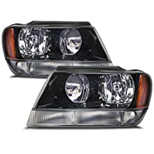 Jeep Grand Cherokee Laredo Headlights W/Xenons OE Style Replacement Headlamps...