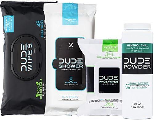 Flushable Shower Powder Menthol Bottle product image