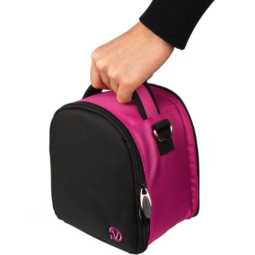 VanGoddy Laurel Magenta Carrying Case Bag for Canon EOS / Re