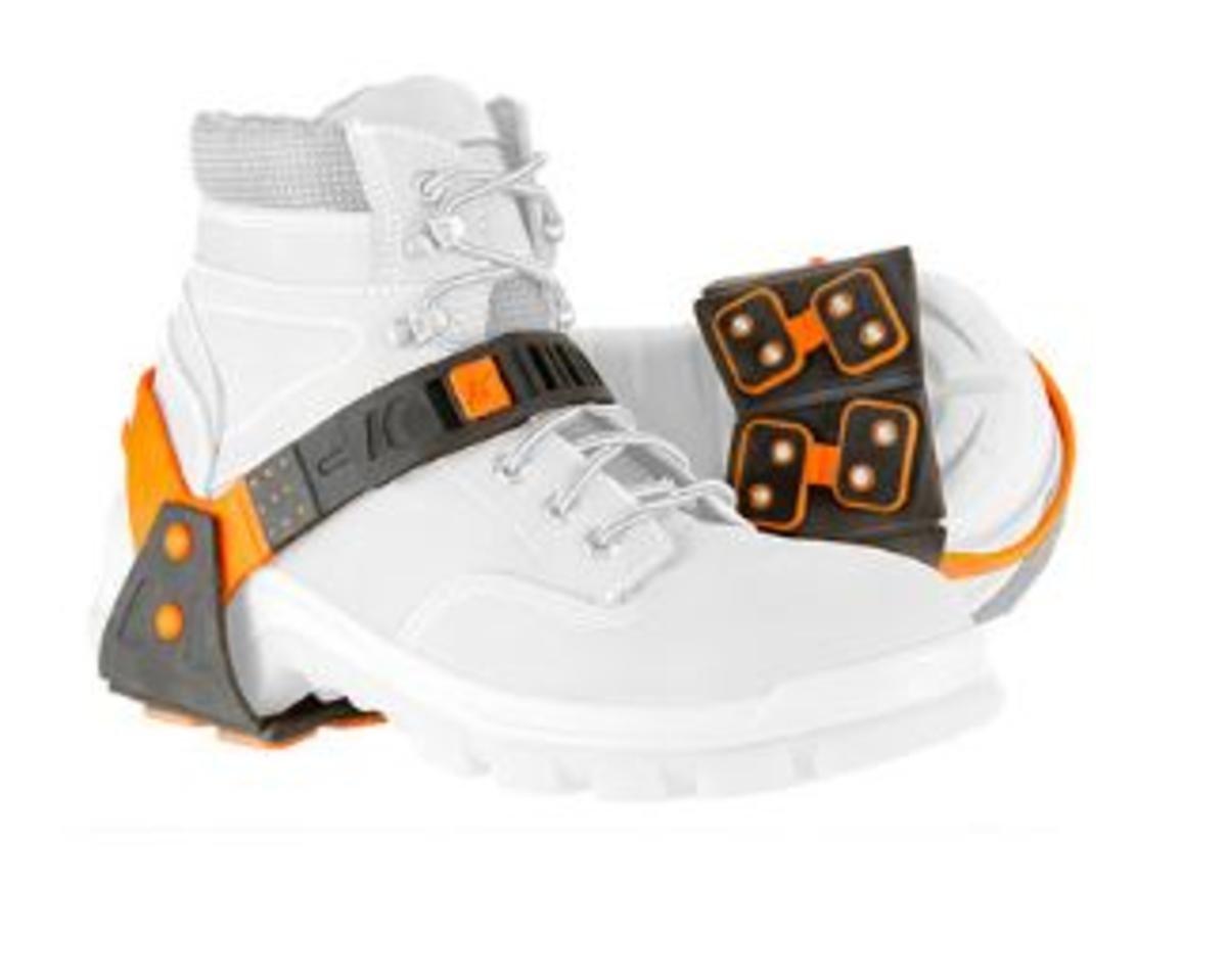 Korkers Unisex Transit Heel Comfort Cleats, Black, OS