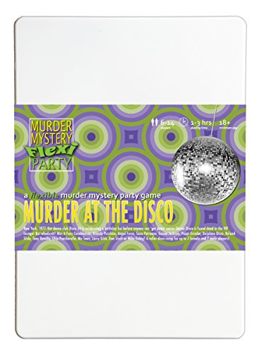 [Murder at the Disco 6-14 Player Murder Mystery Flexi Party] (Murder Mystery Dinner Costume)