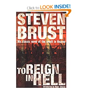 To Reign in Hell: A Novel Steven Brust and Roger Zelazny