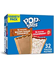 Pop-Tarts, Breakfast Toaster Pastries, Variety Pack, Proudly Baked in the USA, 54.1oz Box (32 Count)