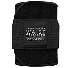 THE PRO SERIES WAIST TRIMMER Size S-M // Black /& White
