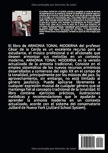 ARMONIA TONAL MODERNA: Amazon.es: de la Cerda, Cesar: Libros
