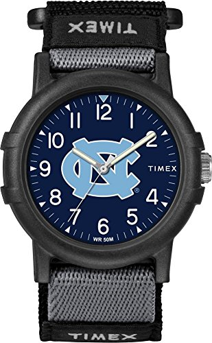 Tar Watch Heels (Timex North Carolina Tarheels UNC Youth FastWrap Recruit Watch)