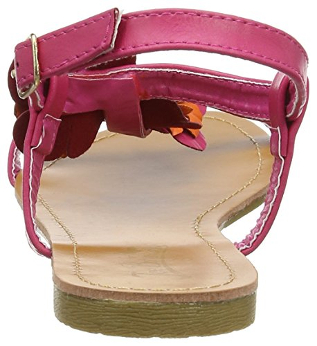 Joe Browns Paradise Island Sandals, Sandalias con Tira a T para Mujer Multicolour (a-orange/pink)