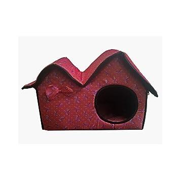 Trade Shop traesiocuccia Cama Plegable casa con Cojín para Perro Perros Talla Pequeño Cachorros Gatos Cuna para Animales: Amazon.es: Productos para mascotas