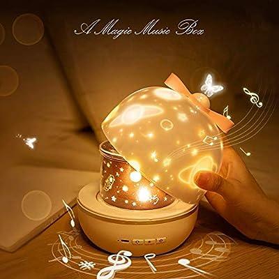Star Night Light para niños Lámparas Proyector de luna Bebé Cielo ...