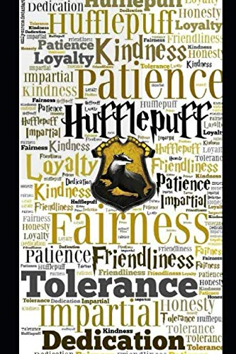 Journal: A hufflepuff themed notebook journal for your everyday needs