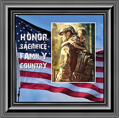 Personally Yours A Soldier's Honor, Military Gift, American Picture Frame, 10x10 6340B