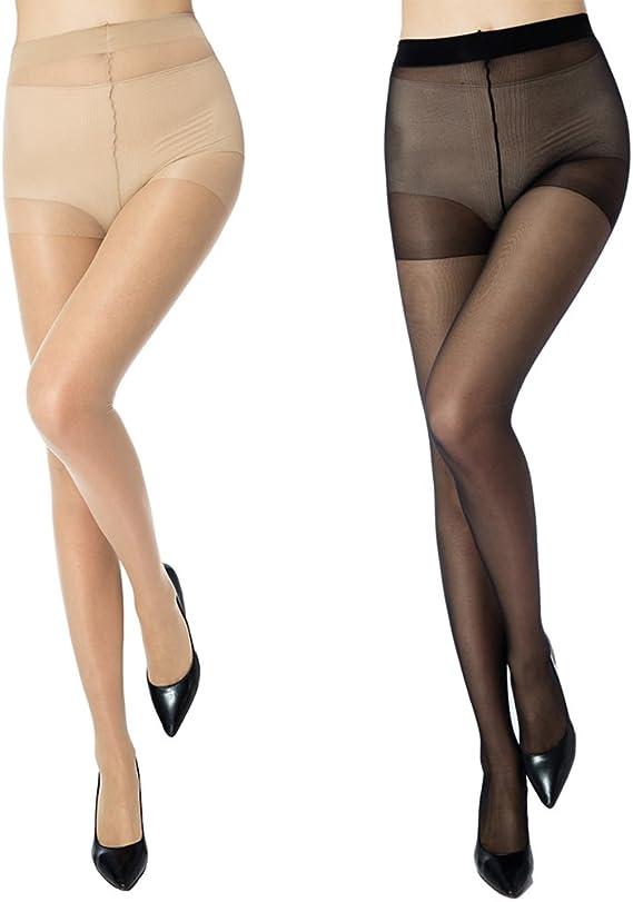 Damen Mode-bunte hauchdünnen transparenten Strumpfhosen Strumpfhose