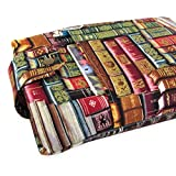 Handmade Antique Book Fabric Book Sleeve - Padded - Perfect For Hardbacks Or Large Paperbacks - Cool Book Lover Gift