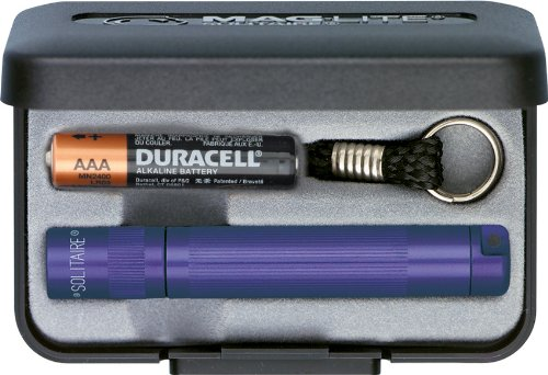 MAGLITE Solitaire Purple AAA - Presentation Box Model - Solitaire Instrument Mag