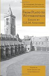 From Plato to Wittgenstein: Essays by GEM Anscombe (St Andrews)