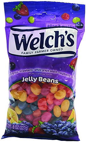 Frankford Candy Company Welch's Jelly Beans, Assorted Fruit,