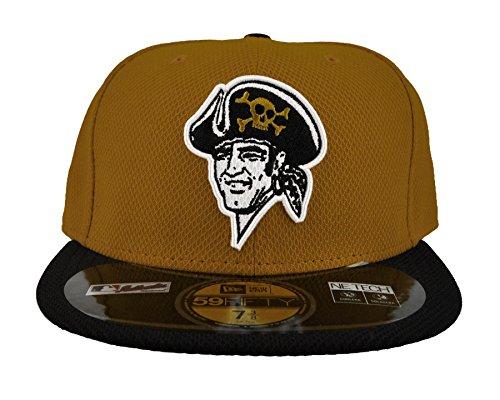 Free Pittsburgh Pirates New Era Gold Diamond Era 59Fifty Fitted Hat