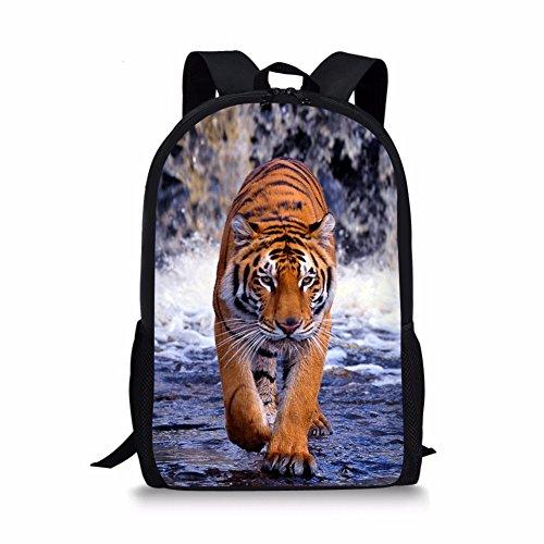 a147373838c4 Nakgn Fashion Tiger Backpack Book Bag for Child
