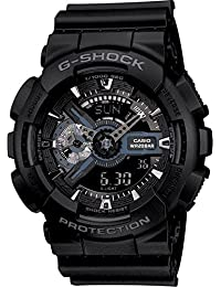 G-Shock Ana-digi World Time Black Dial Men's watch #GA110-1B