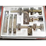 A & Y Traders Glorious Hardware Door Fittings Kit (6 Pieces)