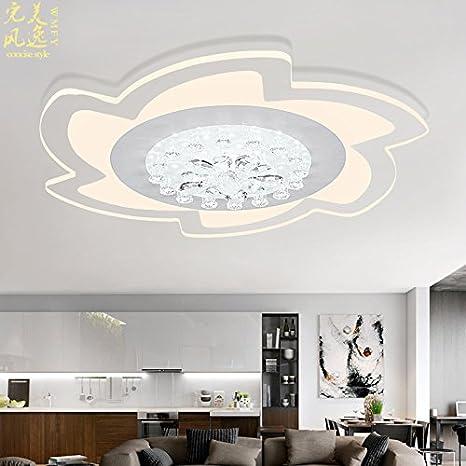 Led lámpara de techo salón minimalista moderno mando a ...