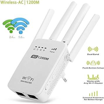Amplificador Señal Wifi Repetidor WiFi Extensor Wi-Fi Potente ...