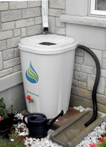 (Enviro World EWC-10 FreeGarden Rain Barrel, Beige)