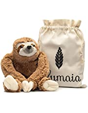 Lulumaia Heating Pad for Cramps - Cuddly Plush with Microwavable Heating Pad for Neck, Stomach, Back Pain Relief - Tension, Stress Relief Gift in Canvas Bag