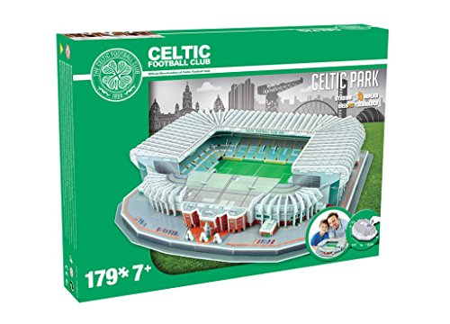 Paul Lamond 3d Celtic Park Stadium Puzzle A Forma Di Stadio