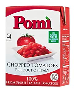 Pomi Chopped Tomatoes, 26.46 Ounce (Pack of 12) ( Value Bulk Multi-pack)