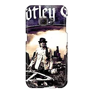 Shock-Absorbing Hard Phone Cover For Samsung Galaxy S6 (SPz15964DLCs) Allow Personal Design Beautiful Motley Crue Band Pictures