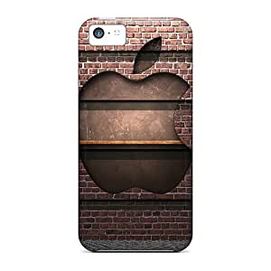 DaiCMrph Fashion Protective Logo Case Cover For Iphone 5c