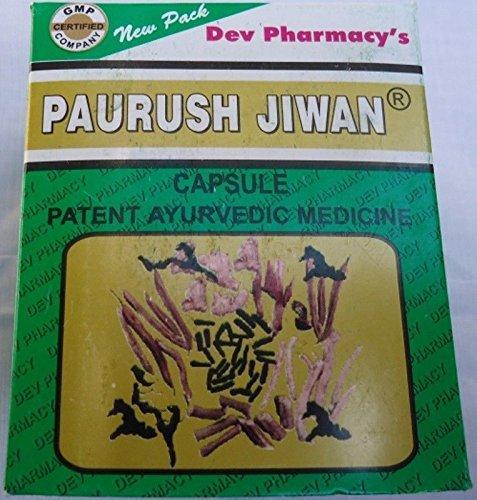 Paurush Jiwan/Jeevan / Jivan 60 Capsules Makes Body Healthy Energetic Active Fit by Paurush Jiwan