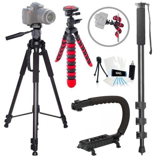 ELECTRONIC CABLE & CONNECTOR Action Tripod Kit for Nikon ...