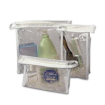 Amazon.com: Vinilo transparente bolsas con cierre 6