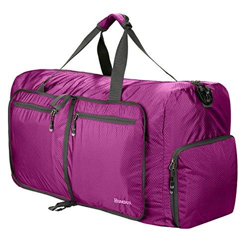 Picnic Duffle - Homdox Foldable Duffle Bag, Large & Strong Travel Luggage, Shopping and Gym Storage Bag